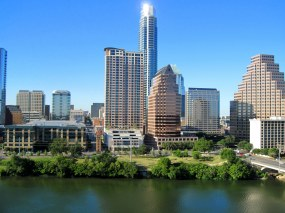 Austin, Hauptstatd von Texas (USA). Ein neues Gesetz verpflichtet Hochschulen dazu das Waffentragen zu erlauben.
