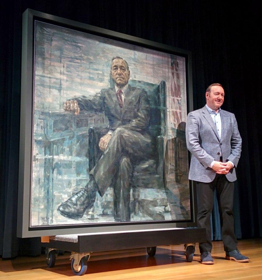 House of Cards: Porträt von Präsident Frank Underwoodenthüllt.