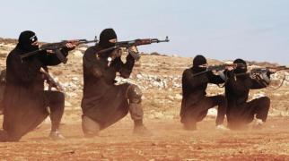 IS-Propagnda Foto. Schätzungsweise 5000 IS-Kämpfer befinden sich in Libyen.
