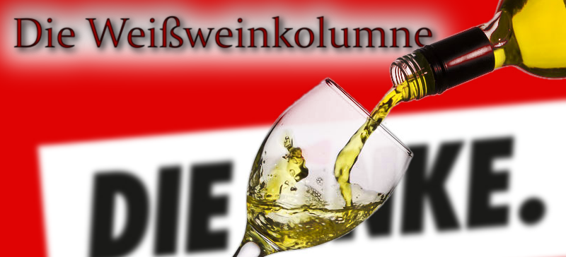 Weißweinkolumne: Ein Tortenwurf ist keinTerroranschlag