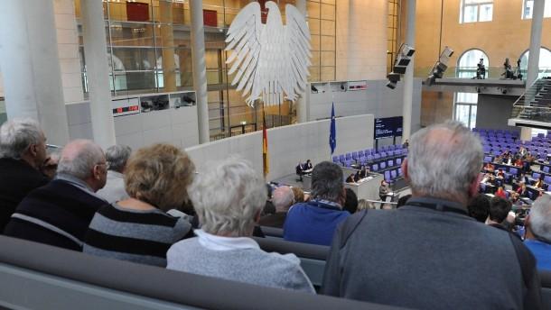 Rentner im Bundestag
