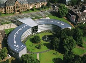 Bayer Zentrale in Leverkusen