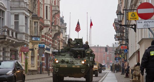 US-Militärkonvoi in Polen: