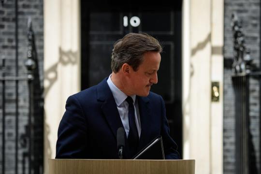 Cameron erklärt Rücktritt wegen BREXIT-Referendum.