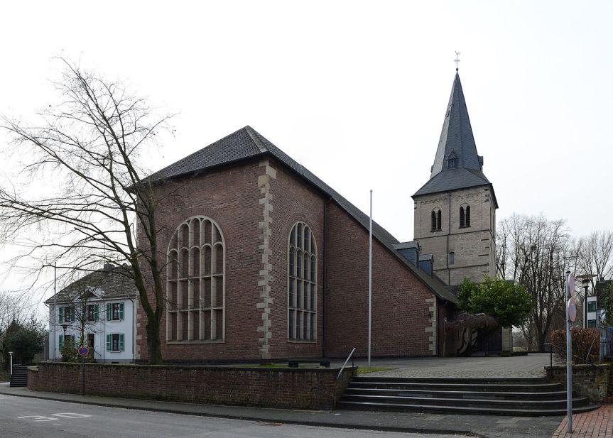 Katholische Kirche Sankt Gereon in Monheim: Seit Jahrzehnten herrscht ein positiver interkultureller Dialog.