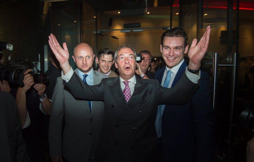 Britain EU Referendum - Leave Party