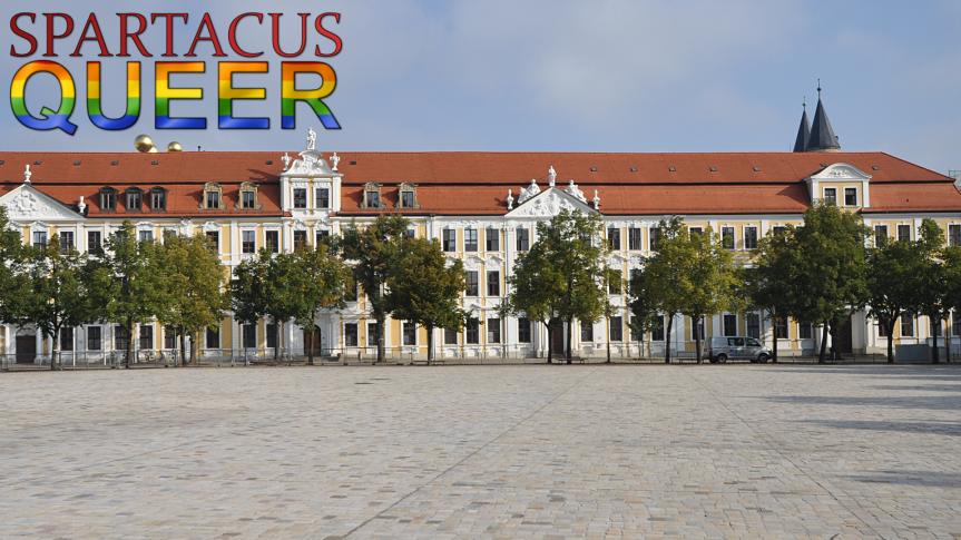 Der Magdeburger Landtag.