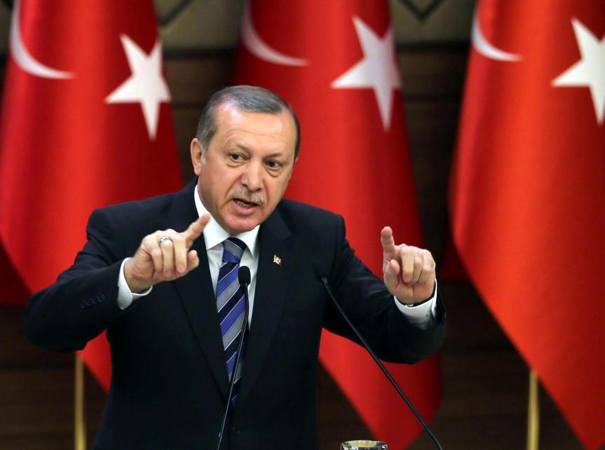 Der türkische Präsident Recep Tyyip Erdogan.