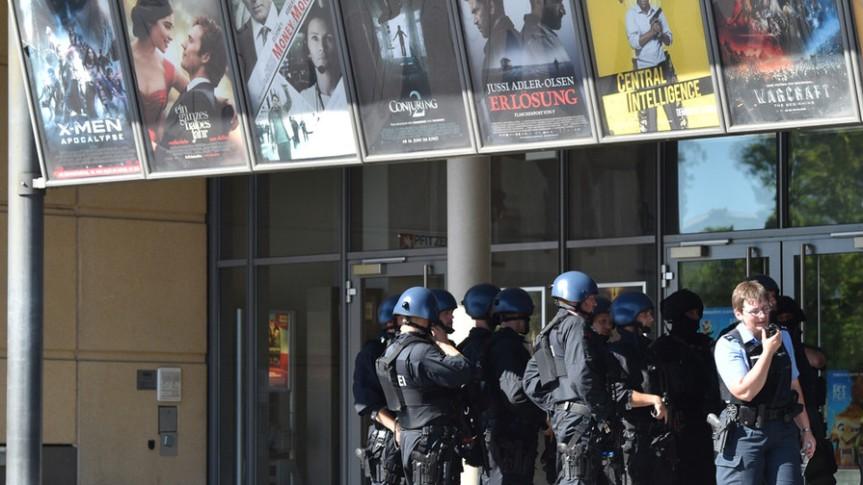 Viernheim-Polizei bei Geiselnahme