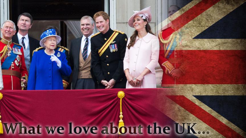 """Ja, eigentlich sind viele Deutsche eben doch noch Royalisten, und da unsere eigenen Aristokraten, oder was von ihnen übrig ist, nicht gerade vor Glamour strotzen, quellen Deutsche Boulevardblätter und """"Promi-Magazine"""" regelmäßig an Geschichten über die englische Königsfamilie über. Die öffentlich-rechtlichen Televisionsanstalten zeigten gar beide live die Hochzeit von Prinz William."""