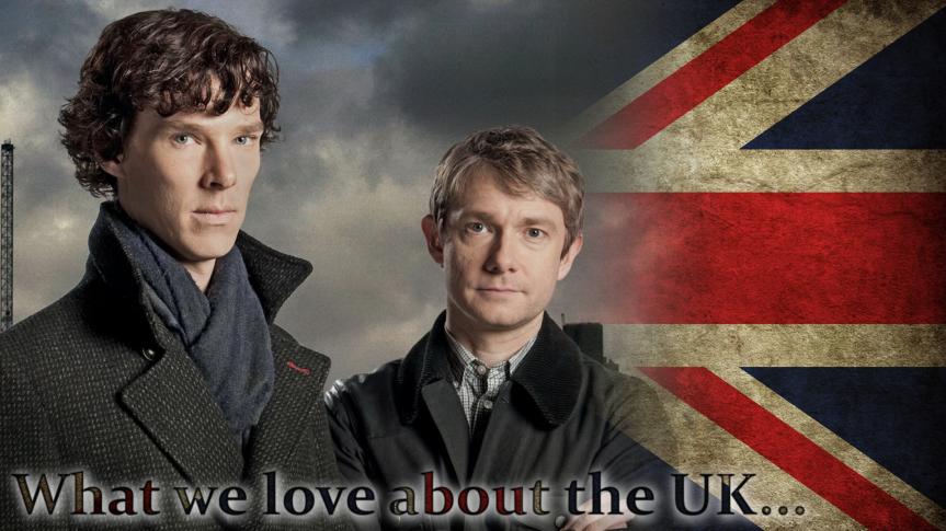 Oh Benedict Cumberbatch, wir lieben einfach alles an dir, deine Wangenknochen, deine Haar und vor allem deine unvergleichliche Stimme! Die BBC Serie Sherlock ist nur eine von vielen filmischen Rezeptionen des großen Detektivs aus den Werken von Arthur Conan Doyle, aber sie sticht aus der Masse in jedem Fall heraus! Warum gelingen solche Serien eigentlich unseren Öffentlich-Rechtlichen in Deutschland nicht?