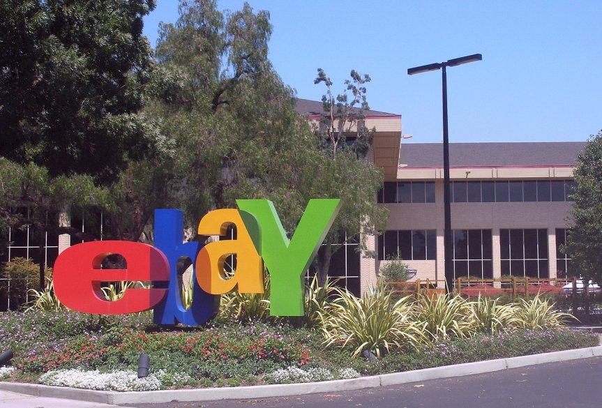 Ebay-Umsätze steigen um 5,7Prozent.