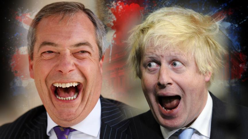 """Nach dem BREXIT-Votum: Nigel Farage tritt zurück. – """"Demagogisch im Wort, erbärmlich in derTat"""""""
