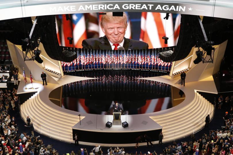 Moore: Trump wollte nie Präsidentwerden.