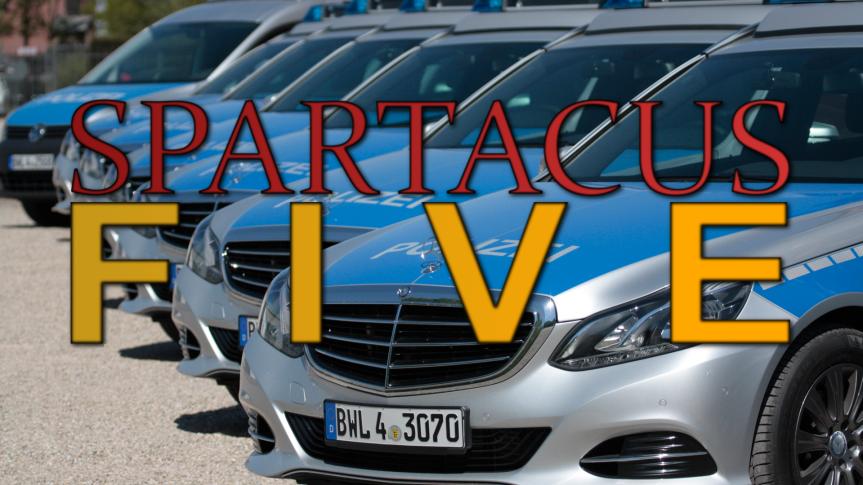 SpartacusFive-Polizei