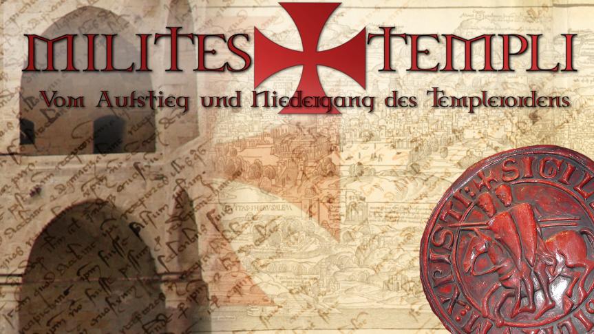 """Ankündigung: Die Reihe """"Milites Templi"""" startet amDonnerstag."""