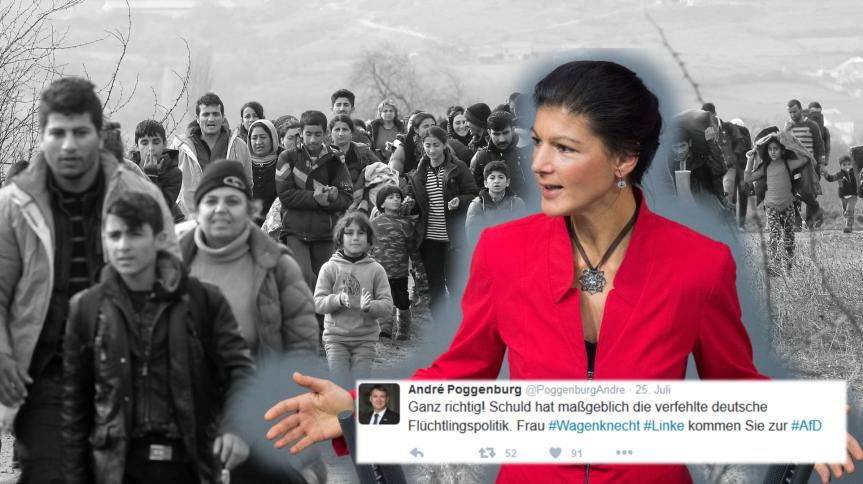 Der Fall Wagenknecht, und die Links-Rechts-Schwäche derAfD.