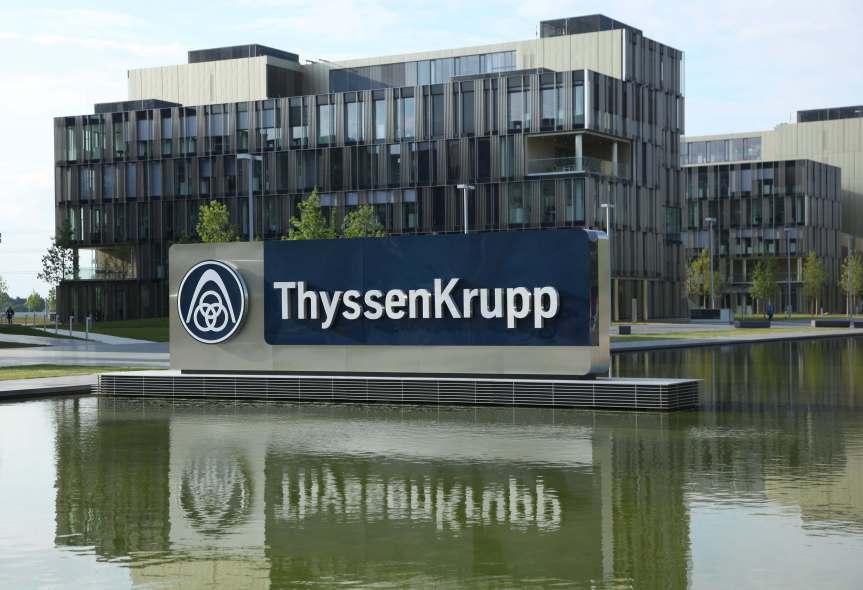 Thyssenkrupp: Industriekonzern plant Umstrukturierung der Rüstungs- und Großanlagensparte