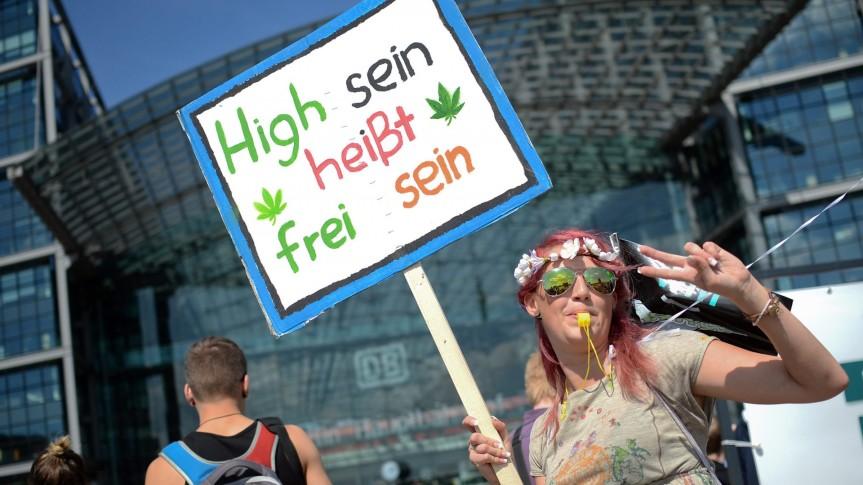 20 Jahre Hanfparade in Berlin: Legalisierung liegt in derLuft.