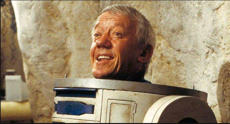 R2D2 meldet sich ab, Kenny Baker isttot.