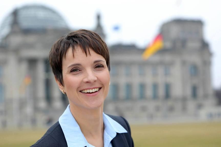 AfD-Vorsitzende Petry fordert Konzentrationslager außerhalbEuropas