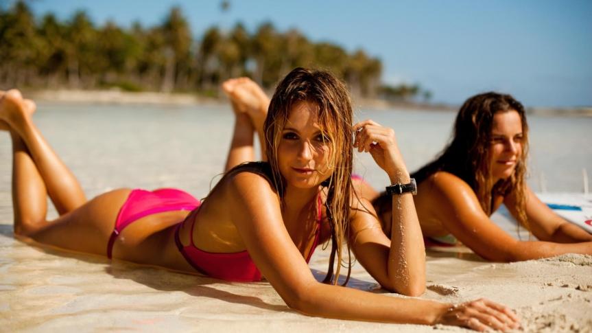 Nordseebad erlässt neue Kleiderordnung gegen atomare Aufrüstung:Bikiniverbot.