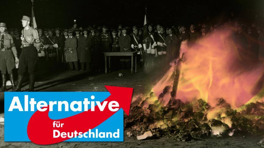 Bücherverbrennung in Rostock: Von der Verurteilung der Intention bei Duldung derTat.